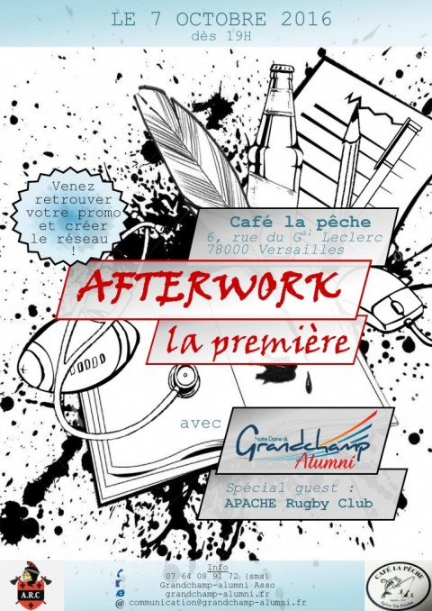 Afterwork Grandchamp Alumni – La première !