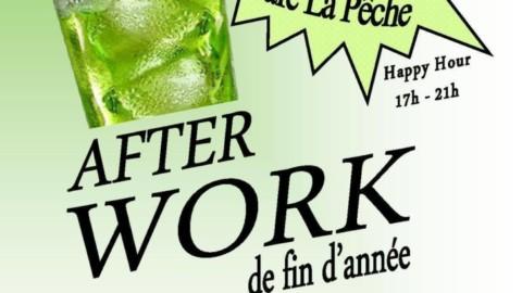 Venez nous retrouver lors de notre prochain Afterwork !