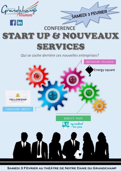 Conférence starts-up