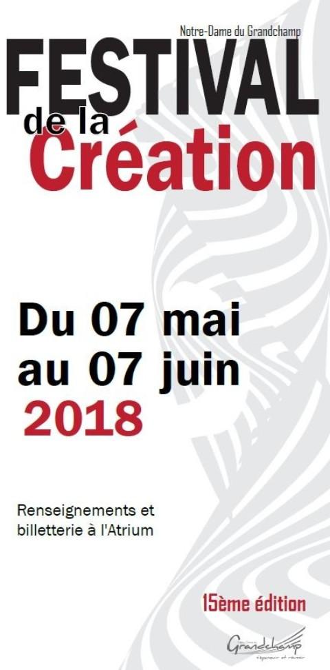 Festival de la Création 2018