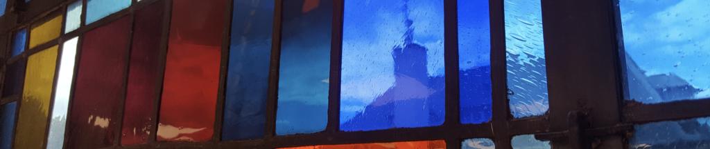 Vitrail Notre Dame du Grandchamp